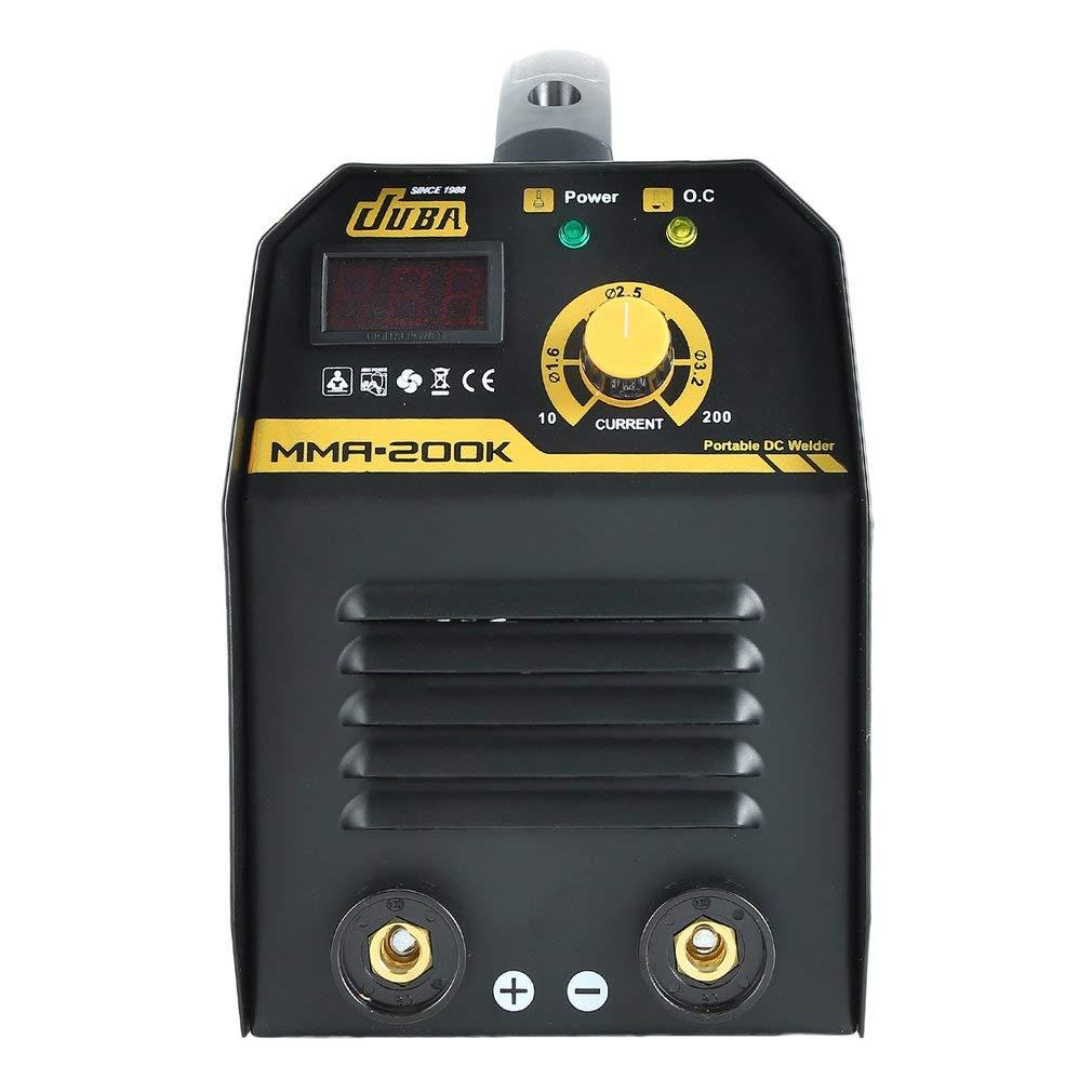 160A Inverter Schwei/ßger/ät MMA IGBT Elektroden E-Hand mit LED Display Zubeh/ör