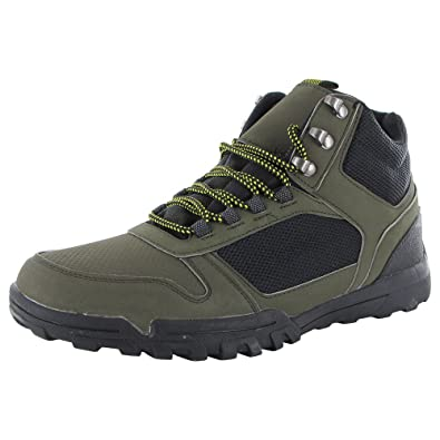 Mens Mounted High Top Hiking Shoes
