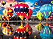 Buffalo Games Balloon Dream Jigsaw Puzzle from The Color Splash Collection (1000 Piece)