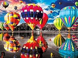 Buffalo Games - Color Splash Collection - Balloon Dream - 1000 Piece Jigsaw Puzzle