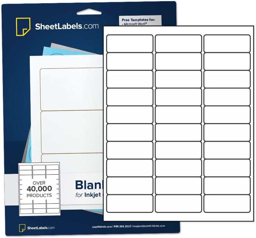 Mailing Address Labels from SheetLabels.com, 1