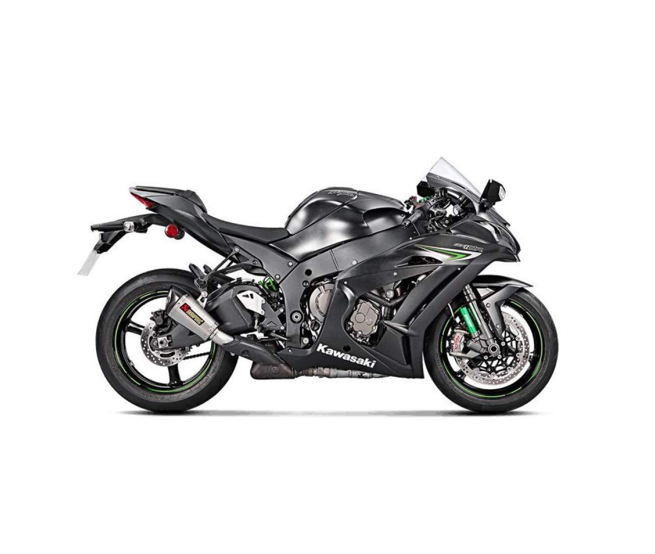 Amazon.com: Kawasaki zx10r-16/17-silencieux titanio ...