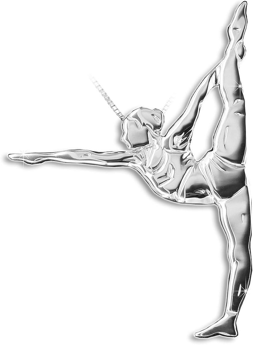 Yoga jewellery pendant DANDAYAMANA - MIKELART DHANURASANA Sale Special Price Brand new