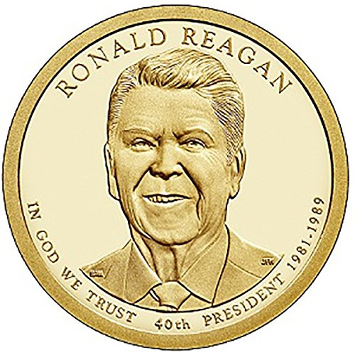 - 2016 P Ronald Reagan - Bankroll of 25 Presidential Dollars Uncirculated