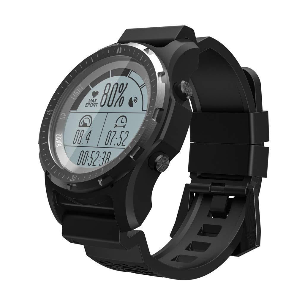 ZUEN Smart Watch Hombres corazón frecuencia Monitor de la presión ...