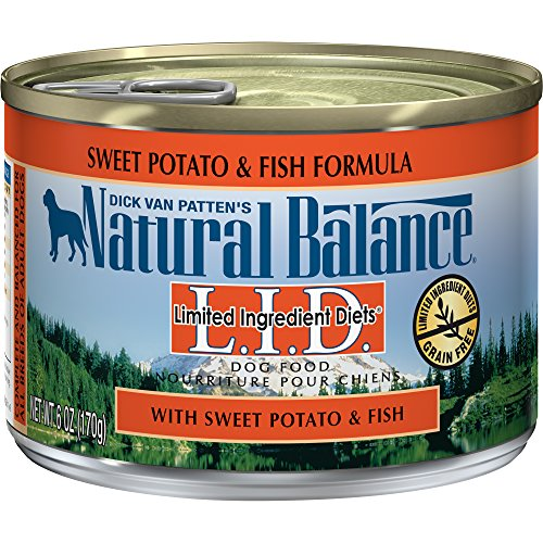Natural Balance Fish And Sweet Potato Canned