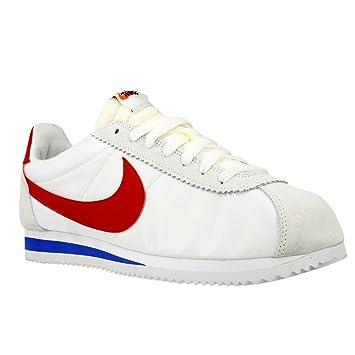 low priced ca300 34765 Nike Classic Cortez AW QS Nylon 847709-164 White Varsity Red-Varsity Royal  Shoes - Size Men s 8 US M  Amazon.ca  Sports   Outdoors
