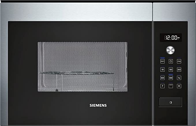 Siemens HF24G564 - Microondas con grill, 25 L, 900 W, color ...