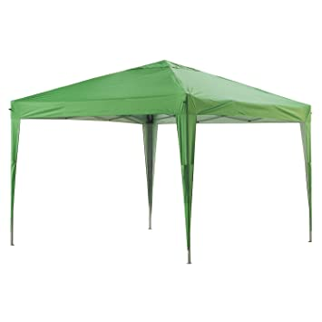 Amazon.de: Greaden Pavillon Garten Grüne 3 X 3 M Eco Briso   Tube 30 ...