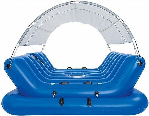 festnight piscina hinchable flotante para familia juego de playa ...