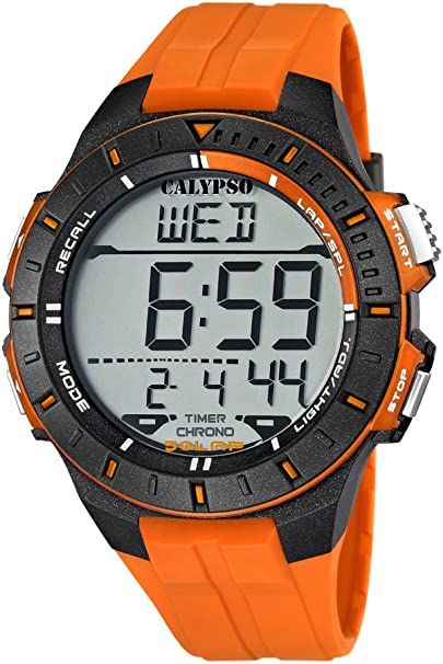 Calypso watches K5607/1 - Reloj Hombre Naranja Sumergible, color naranja