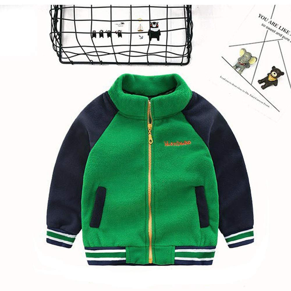DIGOOD Teen Toddler Baby Boys Classic Zipper Jacket Tops,Kids Windbreaker Baseball Coat Autumn Winter Cloak Clothes