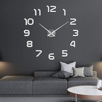 2eadf1a766ca SOLEDI Mute DIY Reloj de Pared