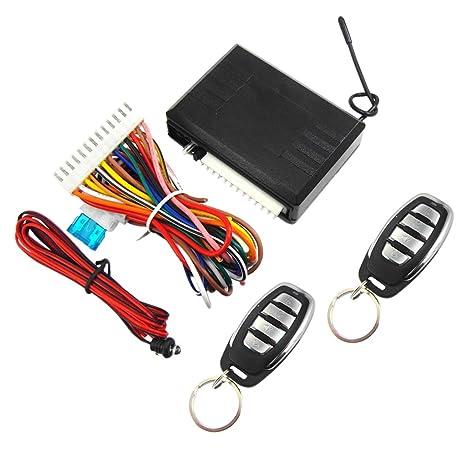 KESOTO Sistema de Entrada Sin Llave Keyless Alarma Kit para ...