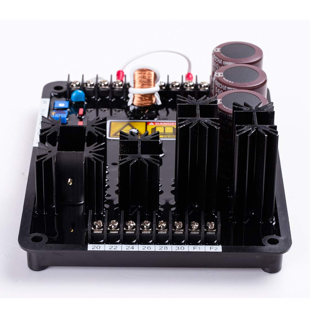 Ship from US Stock Knowtek AVR VR6 Automatic Voltage Regulator for Diesel Generator can Replace VR3 K65-12B AVC63-12B1