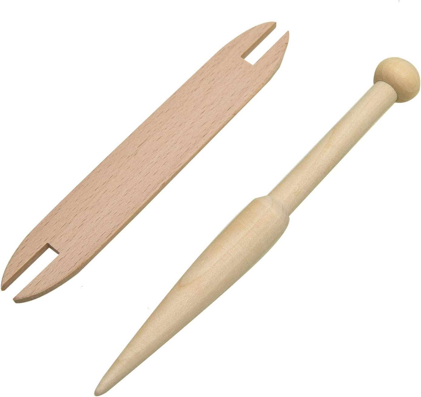 Wooden Shuttles Knitting Weaving Tool Loom Machine Accessory for DIY Crafts