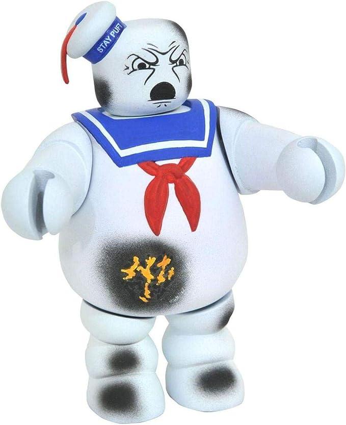 "GHOSTBUSTERS 1984 Marshmallow Man STAY PUFT VINIMATE 4/"" Figure DIAMOND SELECT"