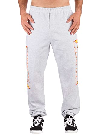 classic style best authentic world-wide free shipping Thrasher Flame Grey Sweatpants