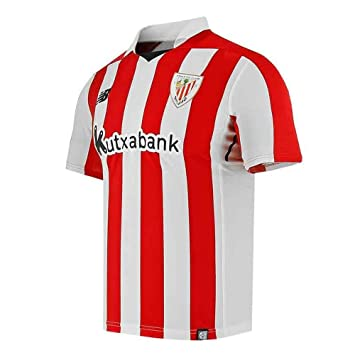 New Balance 2017-2018 Athletic Bilbao Home Football Shirt (Kids ... 5e005d157aad2