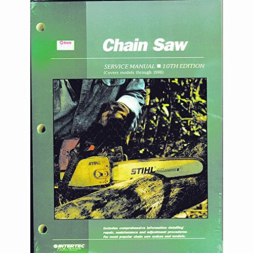 Stens 755-017 Chain Saw Service Manual, 10th Edition, Covers Models Through 1998