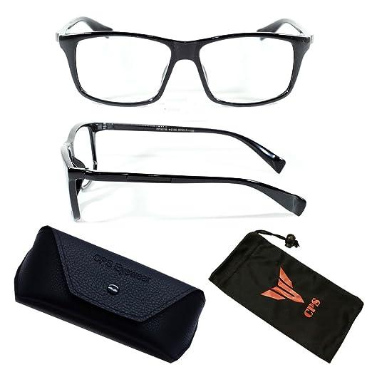 041050f4578c Amazon.com  New Women s Square Fashion Designer Stylish Reading Glasses  Readers + Hard Case  Clothing