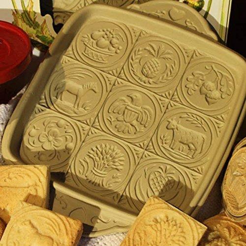 Brown Bag Cookie Mold (Brown Bag Shortbread Mold Pan - American Butter Art)