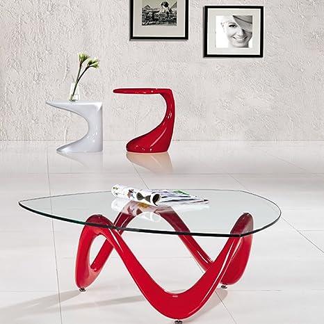 Tavolino Rosso Da Salotto.Designetsamaison Tavolino Basso Da Salotto Niagara Colore