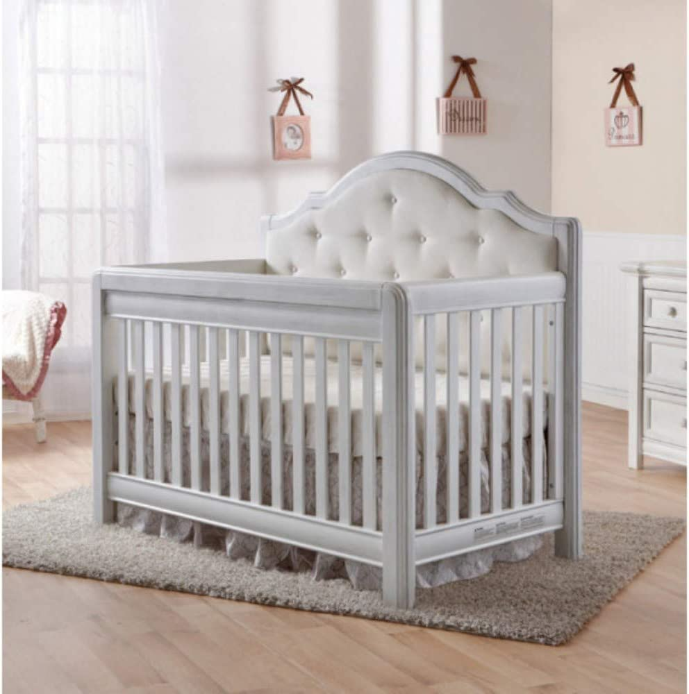 Foamma 1 x 27 x 52 Baby Toddler Crib Bed High Density Foam Replacement for Mattress 1.8 Density 44 lb Compression Made in USA!