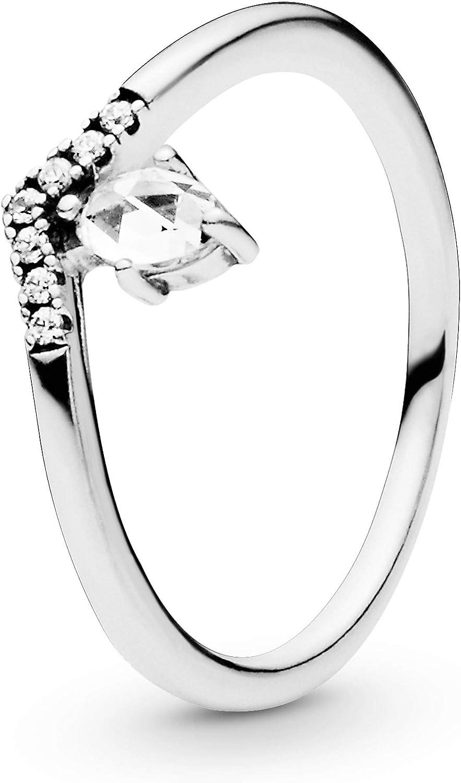 Pandora Anillo Wishbone aniversario Mujer plata -