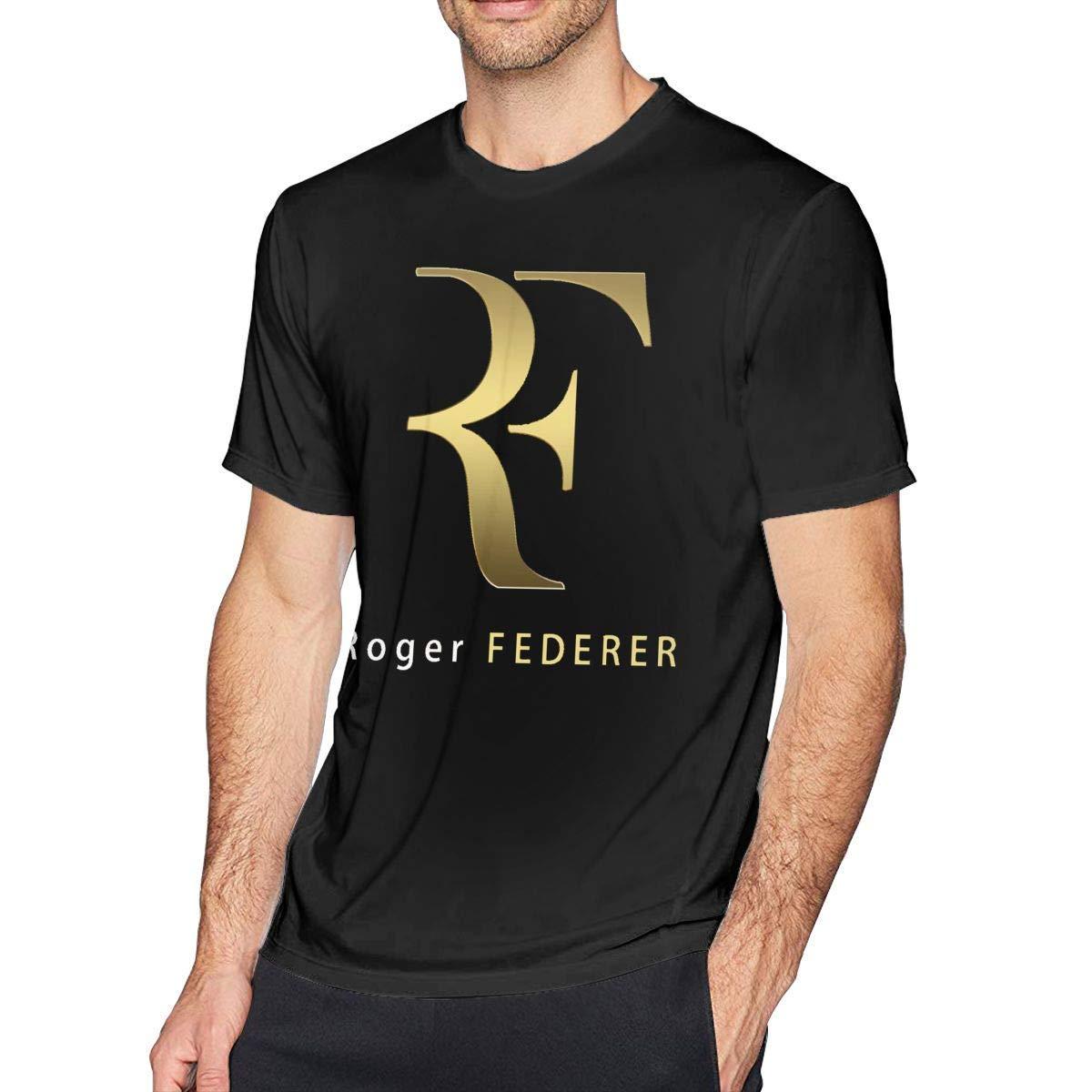 Pillowcase Wholesale Roger-Federer Camiseta Clásica Hombre Negro ...