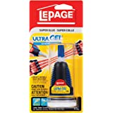 LePage Ultra Gel Control Super Glue, 4ml Bottle (1662532)