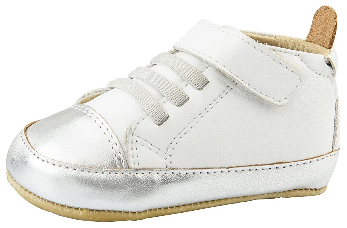 Old Soles Boys and Girls High Ball Premium Leather First Walker Sneaker Shoes