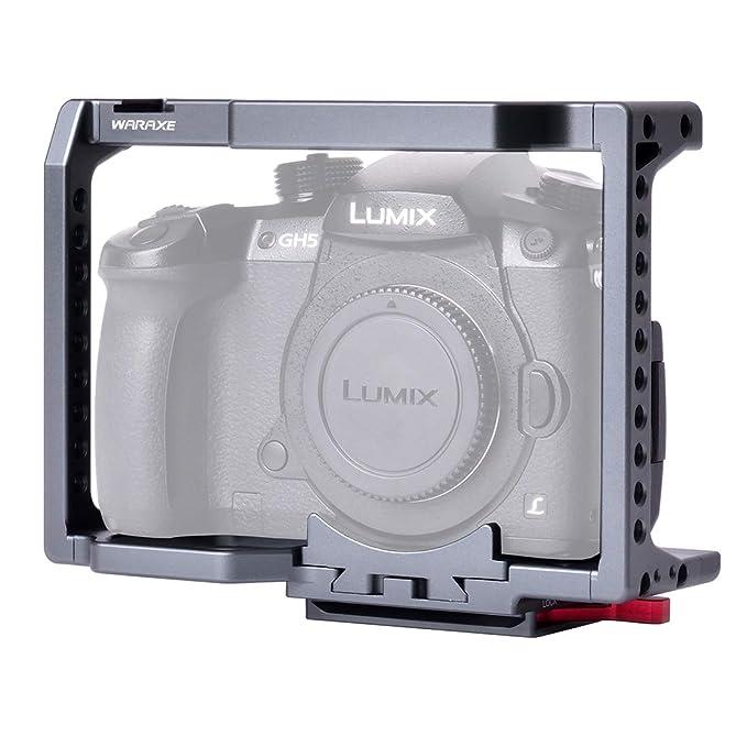 CameraAccessories Jaula para cámara WARAXE 2820 Estabilizador de ...