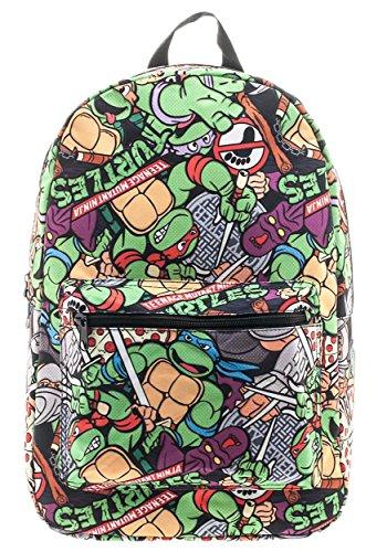 Bioworld Teenage Mutant Ninja Turtles Cartoon Backpack Standard]()