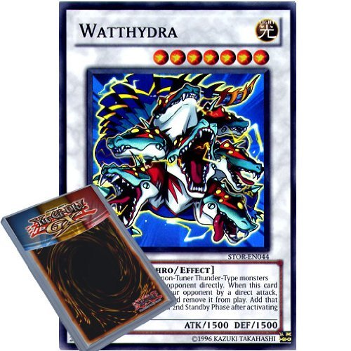- YuGiOh : STOR-EN044 1st Ed Watthydra Super Rare Card - ( Storm of Ragnarok Yu-Gi-Oh! Single Card ) by Konami