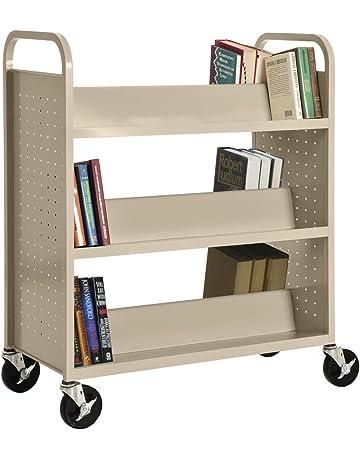 Office Book Carts | Shop Amazon com