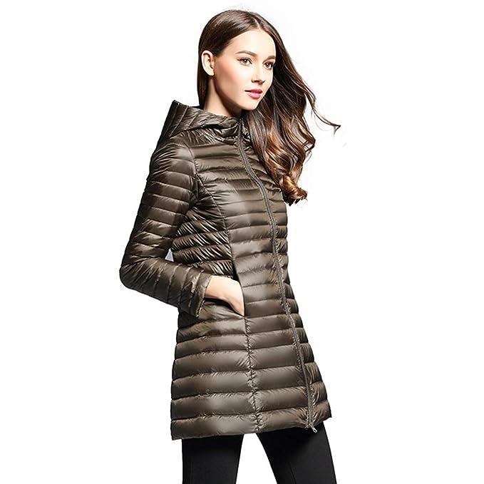 buy popular fd57d 101ef Tookang Solido Giacche Piumino Donna Ripiegabile Caldo ...