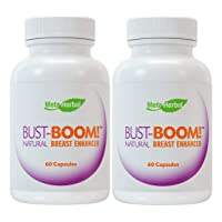 2 Bottles - Bust-Boom! Breast Enlargement/Acne Pills - Female Sexual Enhancement...