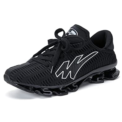 best website 21df3 e1dc2 GOMNEAR Running Shoes Men Lightweight Breathable Lace-up Casual Fashion  Sneakers Athletic Sports Shoes,