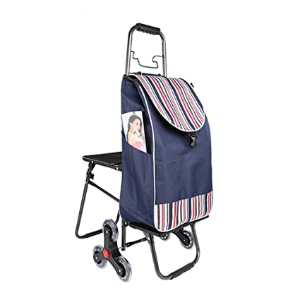 GTT Carrito de Compras, carritos para Subir escaleras, carritos portátiles Plegables, carros de