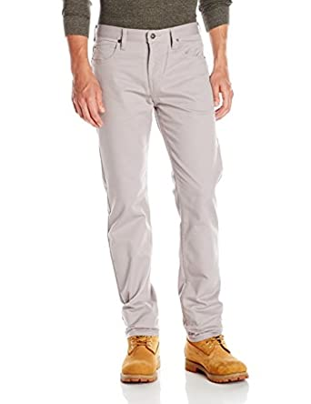 4f27ad4a319227 Amazon.com: Dickies Men's Regular Straight 5-Pocket Pant, Silver ...
