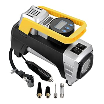 Desconocido Compresor de aire bomba portátil compresor de aire 150 PSI Inflador de neumáticos digital con
