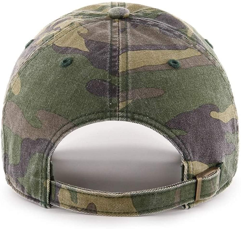 Unisex Louis Cardinals Clean Up Adjustable Hat Adult Camo//Red MLB Baseball Cap 47 Brand St