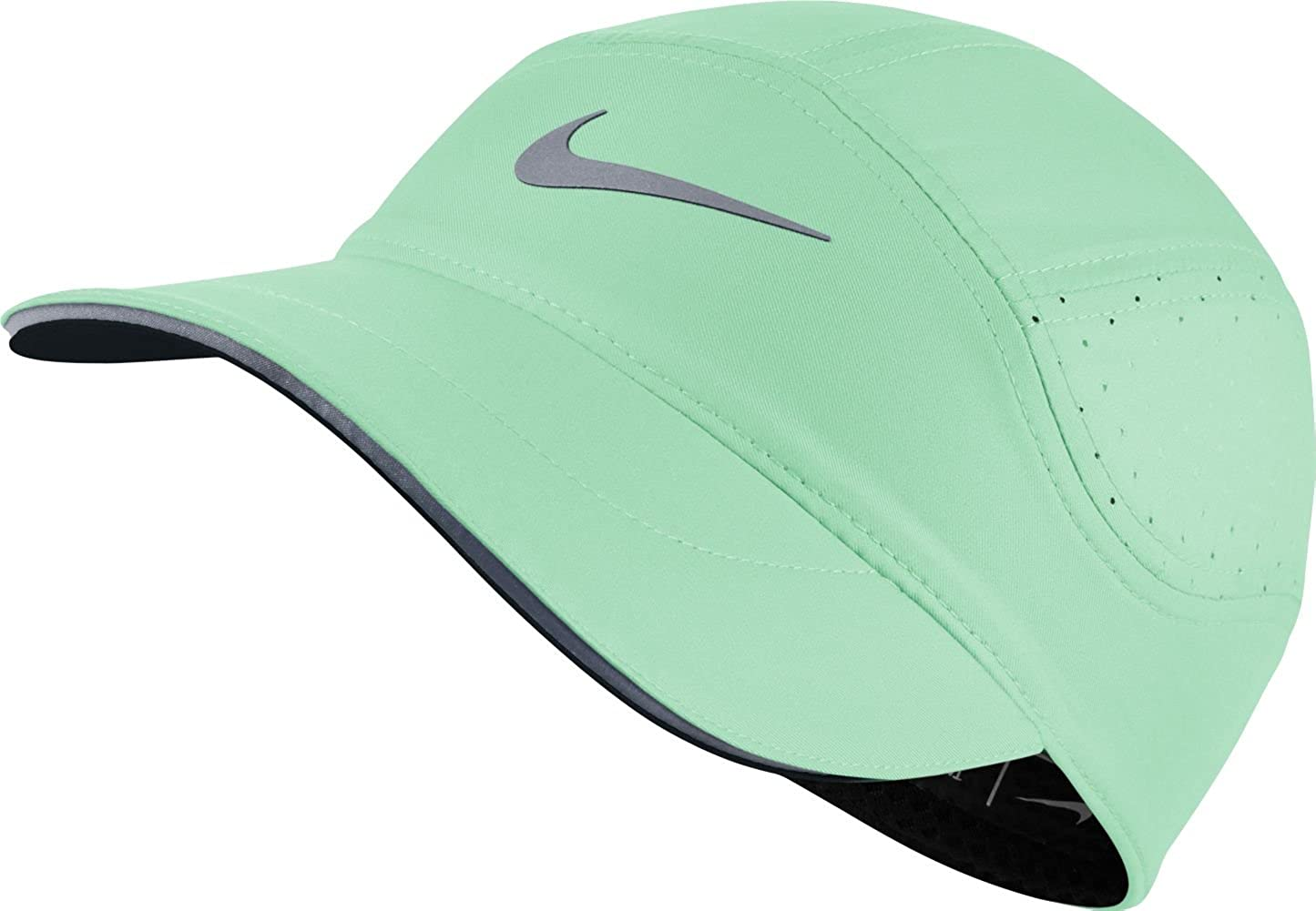 Nike W Nk Arobill TW Elite Gorra, Mujer, Menta (Fresh Mint/Black ...