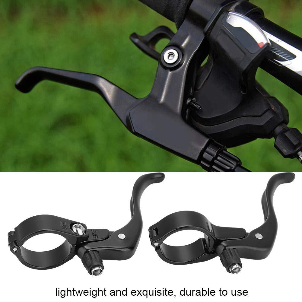 MTB Bike Bicycle Aluminum Alloy Lightweight Brake Handle Brake Levers Black