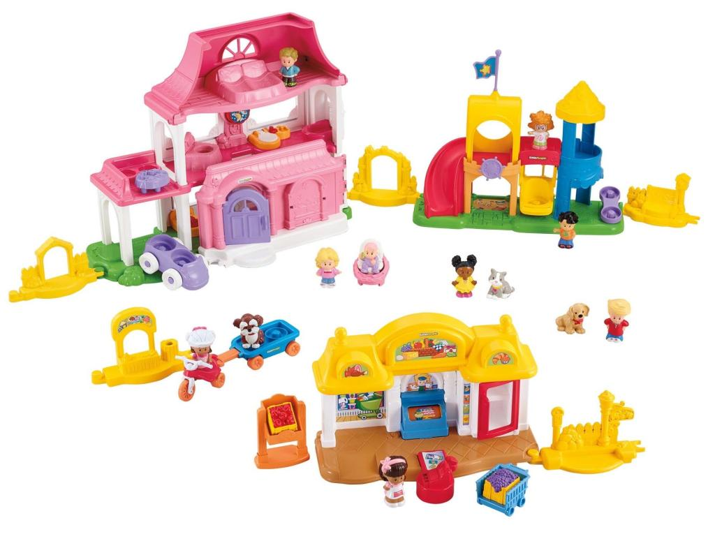Amazon.com: Fisher-Price Little People Neighborhood ...