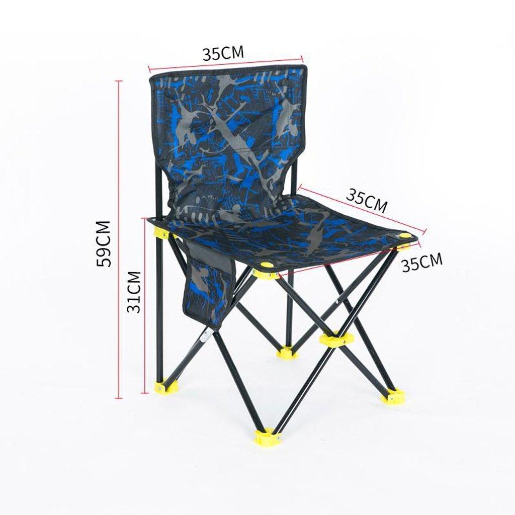 GHM Boden Stuhl Angeln Stuhl Outdoor Klappstuhl Portable Camping Strand Malerei Skizze Stuhl