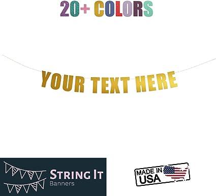 Amazon.com: Funny grosero personalizar tu fiesta Banner ...
