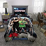 Franco Kids Bedding Super Soft Comforter and Sheet Set, 4 Piece Twin Size, WWE Armageddon
