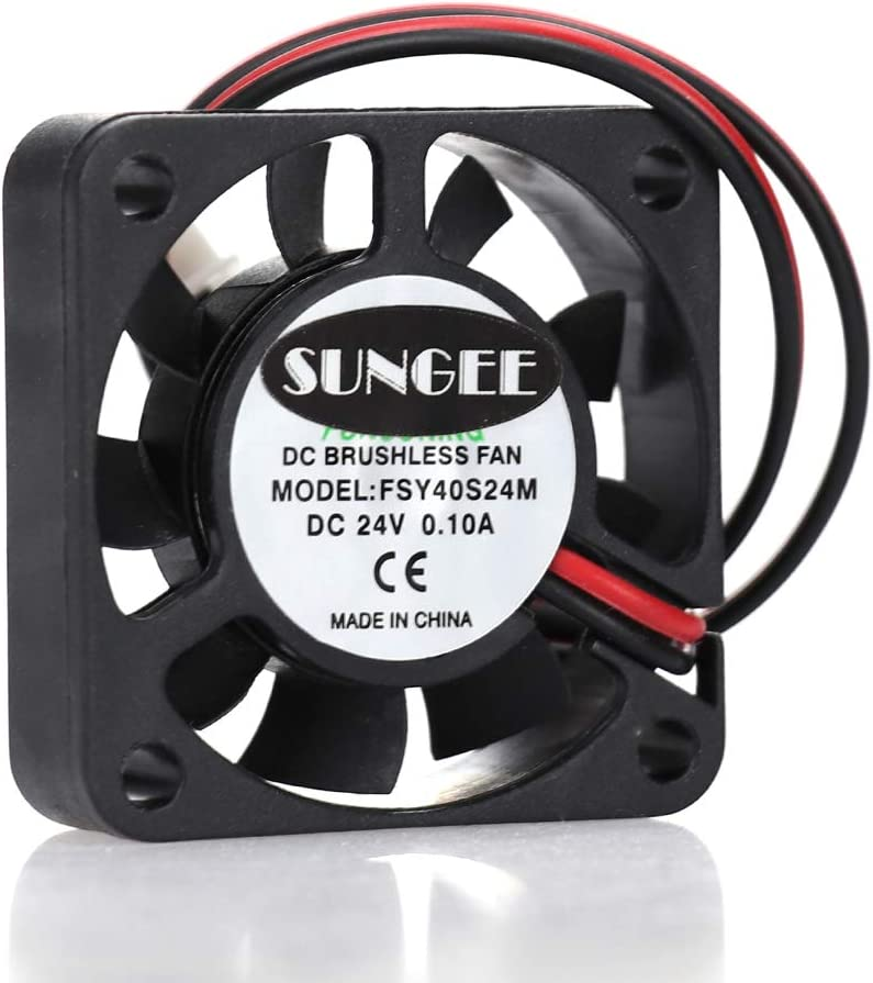 FSY40S24M 4010 24V 0.1A 2Wire Cooling Fan